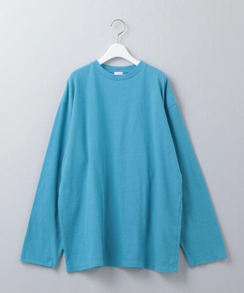 <6(ROKU)>FINGERLESS LONG SLEEVE T-SHIRT/Tシャツ