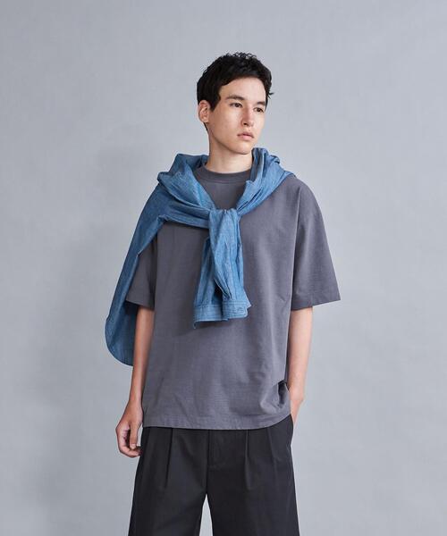 <Steven Alan>  HI-DENS CREW NECK SHORT SLEEVE TEE-BOLD/Tシャツ