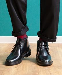 London Shoe Make(ロンドンシューメイク)のLondon Shoe Make/ロンドンシューメイク グッドイヤーウェルト製法オールレザー チャッカブーツ(ブーツ)