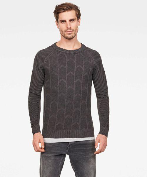 第一ネット Suzaki Biker Knitted Sweater, アマルメマチ fae4c270