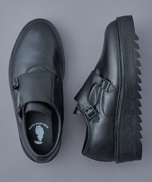 KIDS LOVE GAITE(キッズラブゲイト)のKIDS LOVE GAITE RUBBER DOUBLE MONK STRAP SHOES(ドレスシューズ)