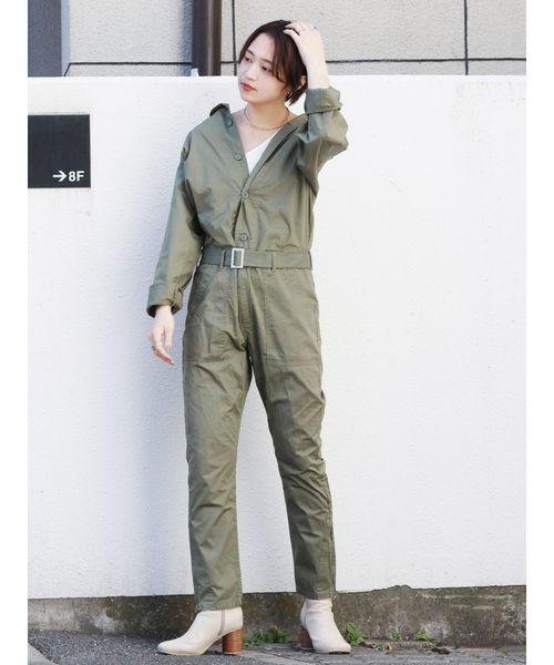 高価値 ミリタリージャンプスーツ(つなぎ/オールインワン)|Ungrid(アングリッド)のファッション通販, やまのえこ:1956182d --- munich-airport-memories.de