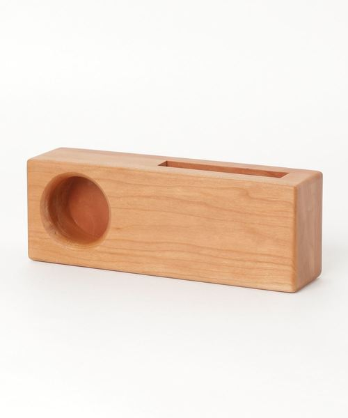 【 CURIOUS / キュリアス 】 ウッドスピーカー iPhone対応 底部右側対応タイプ Wood Speaker CUR
