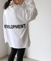 via j(ヴィアジェイ)のvia j(ヴィアジェイ) DEVELOPMENTロングTシャツ(Tシャツ/カットソー)