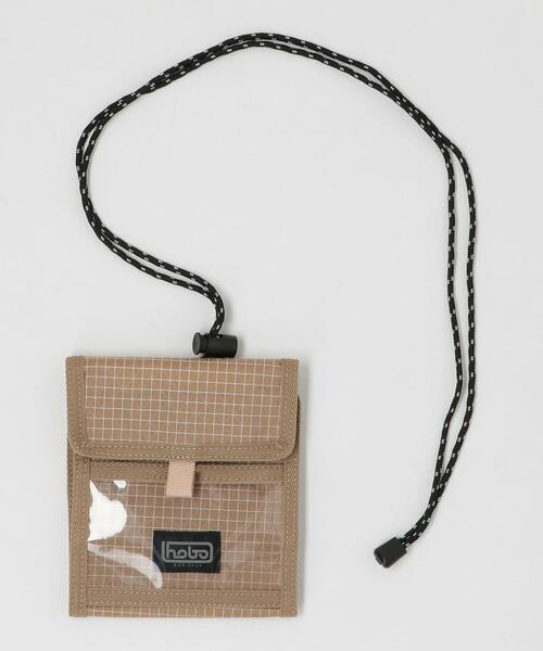 <hobo(ホーボー)> SPECTRA NECK POUCH/ポーチ □□