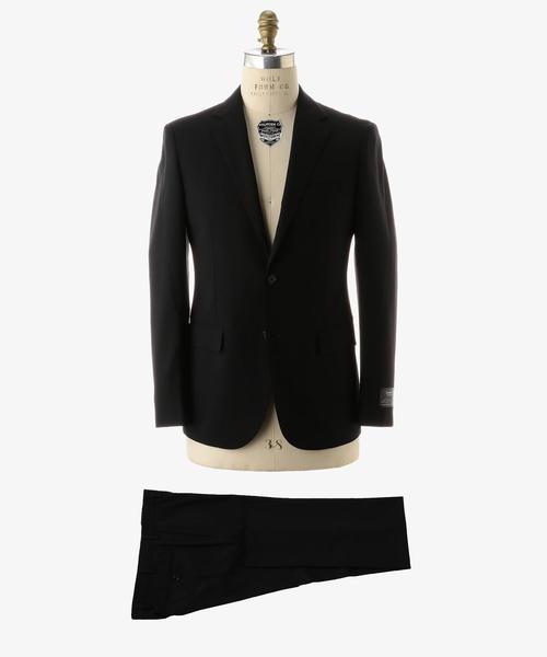 UADB ブラック ソリッド 2B コンフォート プラス スーツ ◆