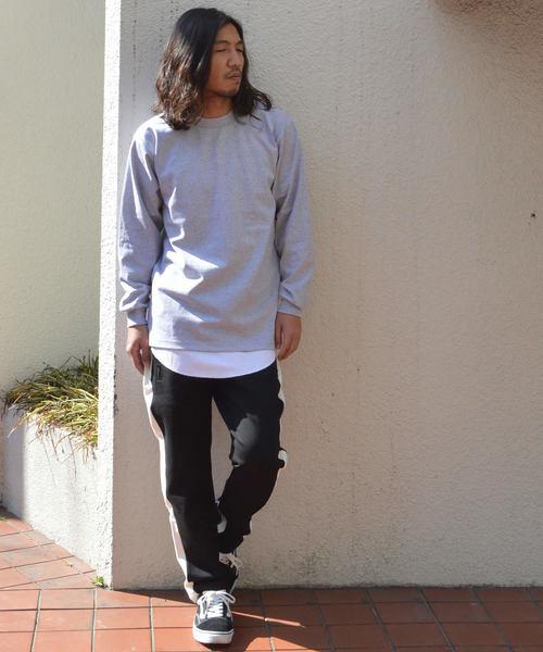 Proclub L/S Crewneck HeavyWeight Tall T shirts
