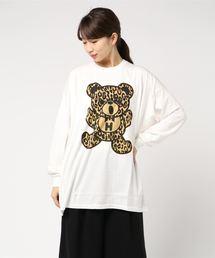 LEOPARD BEAR ビッグTシャツ