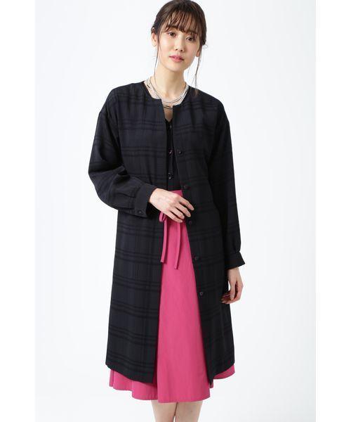 特価 【セール】◆チェックジャカードコート(その他アウター) NATURAL BEAUTY(ナチュラルビューティー)のファッション通販, グッドライフコート:283e5cac --- 5613dcaibao.eu.org
