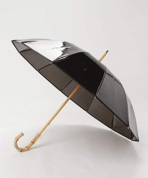 Traditional Weatherwear(トラディショナルウェザーウェア)の「VINYL UMBRELLA BAMBOO(長傘)」 ブラック