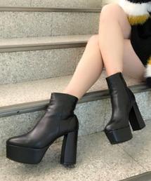 ESPERANZA(エスペランサ)のESPERANZA(エスペランサ)ボリュームソールショートブーツ(ブーツ)