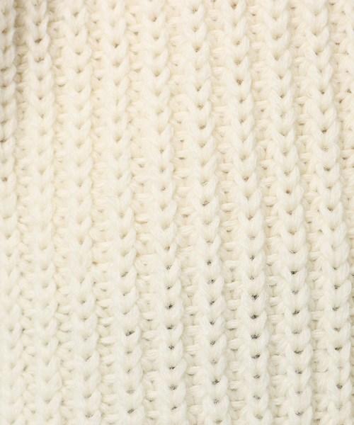 UNTITLED(アンタイトル)の「ローゲージウールチュニックニット(ニット/セーター)」|詳細画像