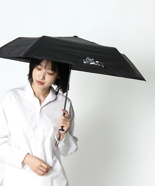 ムーミン晴雨兼用ポーチ付き 折りたたみ傘 PMO-P OGW ・・