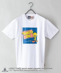 【LOONEY TUNES/ルーニー・テューンズ】別注 プリントTシャツホワイト