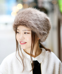 無(ム)のロシア帽(ハンチング/ベレー帽)