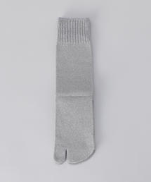 <W&FW>LAME TABI SOCKS/ソックス