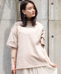 WEGO(ウィゴー)のWEGO/【WEB限定】デイリーユースUSAコットンTシャツ(Tシャツ/カットソー)