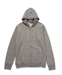 HOODED SWEATSHIRT(N.HOOLYWOOD UNDER WEAR × LOOPWHEELER)グレー