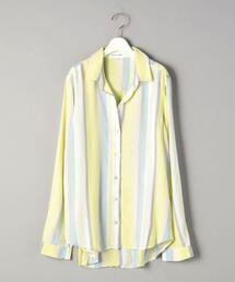 <bella dahl>マルチストライプシャツ