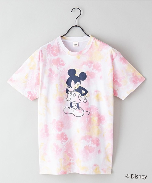 【DISNEY/ディズニー】タイダイTシャツ