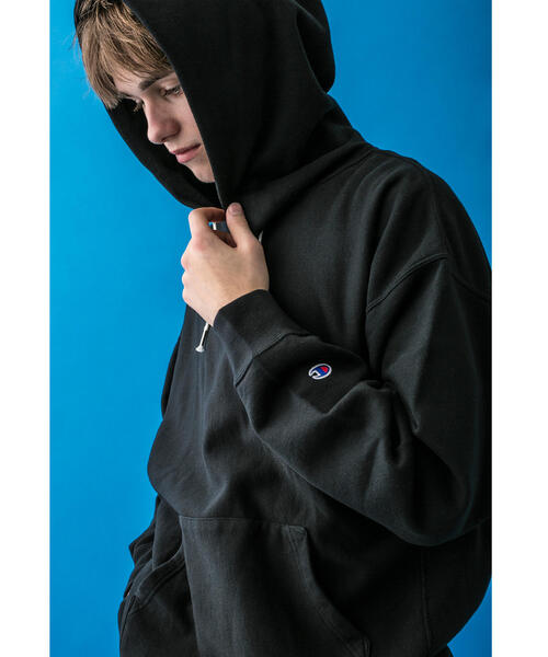 <Champion × monkey time> REVERSE WEAVE PULLOVER HOODY/パーカー ◆