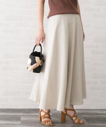 URBAN RESEARCH ROSSO WOMEN(アーバンリサーチ ロッソ)のリネンサーキュラースカート(スカート)