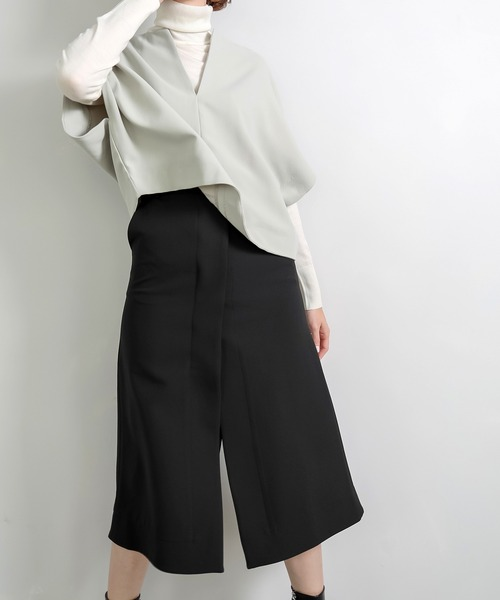【chuclla】【2020/AW】High slit long skirt chw1325