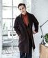 「LIGHT WOOL MOSSER / WIDE SILHOUTTE LONG COAT」