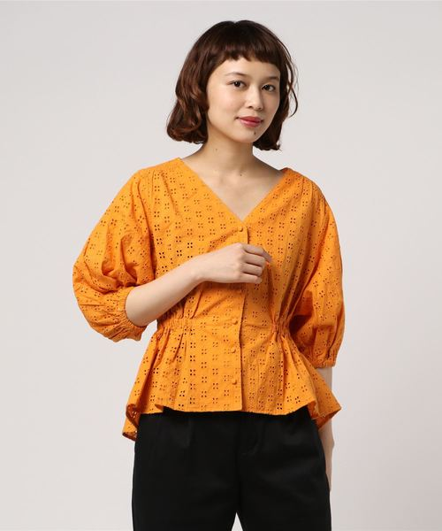 COTTON LACE SHAPED TOPS