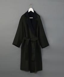 <6(ROKU)>DOUOBLE REVER GOWN COAT/コート
