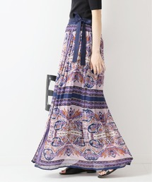 Spick & Span(スピックアンドスパン)の【SARA MALLIKA】 スカーフプリントスカート◆(スカート)