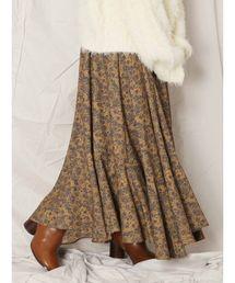 Ungrid(アングリッド)のフラワーデザインフレアスカート(スカート)