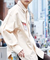 オーバーサイズCPOシャツジャケット/シャツブルゾン カバーオール 2021 SPRINGホワイト系その他