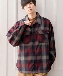 【ユニセックスで着用可能!】ツイル コーデュロイ CPOシャツ/オーバーサイズシャツ/シャツジャケット/セットアップ可ブラック系その他3