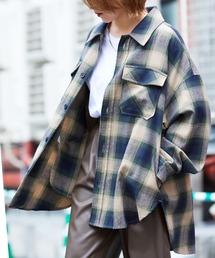 【ユニセックスで着用可能!】ツイル コーデュロイ CPOシャツ/オーバーサイズシャツ/シャツジャケット/セットアップ可ベージュ系その他3