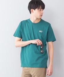 ユーティリティーTシャツ ポケット付き ドローコード付きグリーン