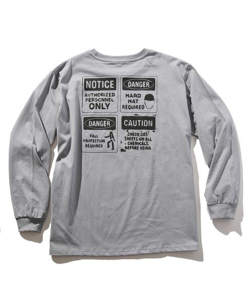 PHOTO LOGO ロングTシャツ