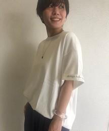 TODAYFUL(トゥデイフル)のカフプリントTシャツ(Tシャツ/カットソー)