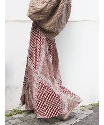 Ungrid(アングリッド)のラメランダムプリーツパネル柄スカート(スカート)