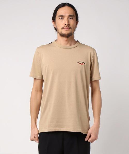 ドライ機能付き ワンポイント刺繍Tシャツ 速乾性