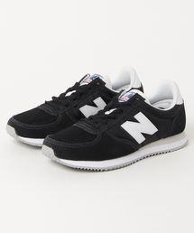 New Balance(ニューバランス)のNew Balance ニューバランス U220BK(D) BLACK(BK)(スニーカー)