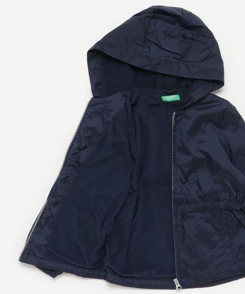 KIDSフード付きインナーフリースジャケット