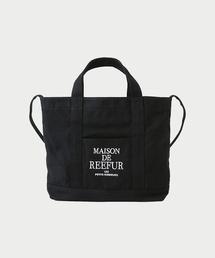 MAISON DE REEFUR(メゾンドリーファー)のREEFUR ロゴ 2WAY キャンバス トート バッグ M(ショルダーバッグ)