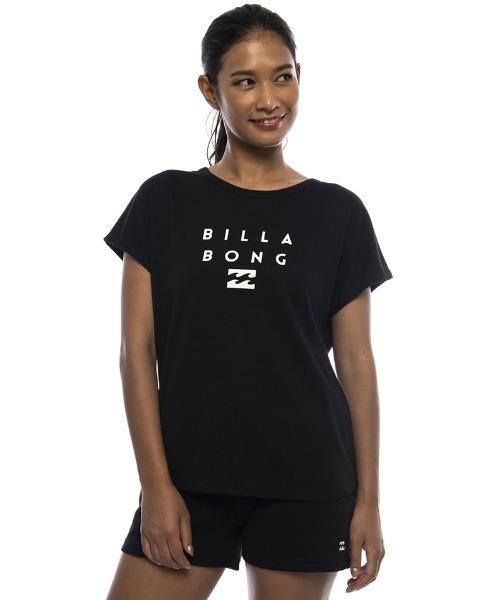 BILLABONG レディース 【ACTIVE】 トレーニングUVルーズTシャツ/ビラボン Tシャツ 半袖 ヨガ フィットネス ランニング ジム