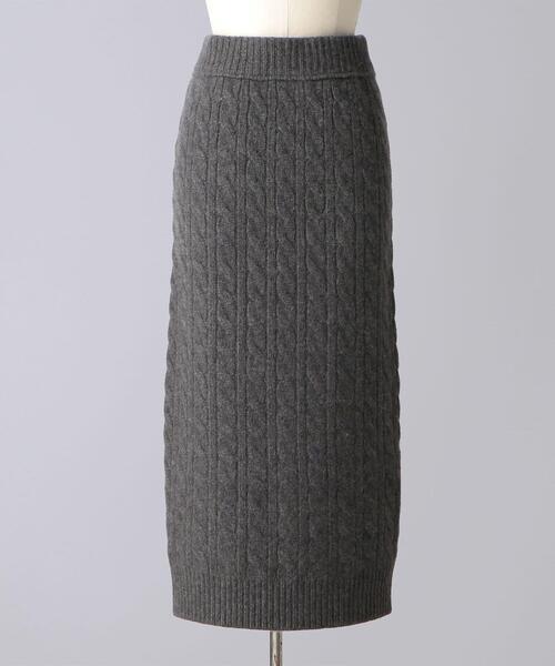 < BLAMINK(ブラミンク)> R CA CABLE TT スカート