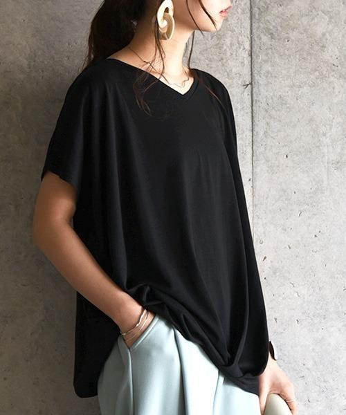and it_(アンドイット)の「裾タックワイドプルオーバー(Tシャツ/カットソー)」|その他2