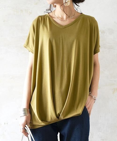 and it_(アンドイット)の「裾タックワイドプルオーバー(Tシャツ/カットソー)」|その他6