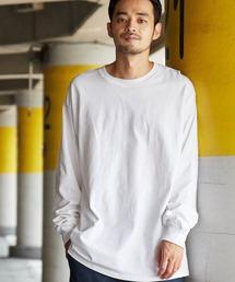 GILDAN(ギルダン)のギルダン ビッグシルエット USAオーバーサイズ ロングスリーブTシャツ(Tシャツ/カットソー)