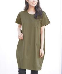 3c532f7f56714 ワンピース(グリーン・カーキ 緑色系・ひざ丈)ファッション通販 - ZOZOTOWN