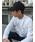 MAISON HONORE(メゾンオノレ)の「Black baseball cap lamour white(キャップ)」|詳細画像